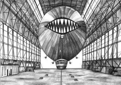 0 - Hangar 11, pencil on paper,21 x 29 cm (2011).jpg