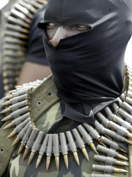 0George Osodi - Rebel - Oil rich Niger delta.jpg
