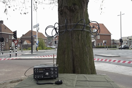 Tree Antenna: using trees for radio transmission