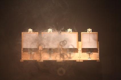Ali Momeni and Robin Mandel, Smoke and Hot Air (2008)