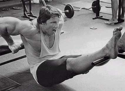 Les exercices d'Arnold Schwarzenegger
