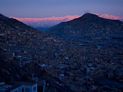 kabul city centre. A view of Kabul city centre