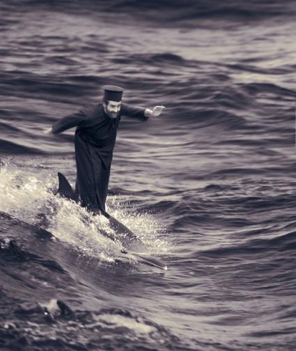 The Miracle of Dolphin-Surfing, 2002, Joan Fontcuberta ∏ Joan Fontcuberta.jpg