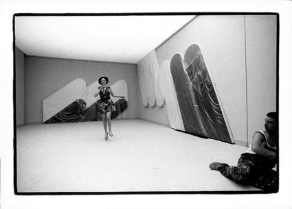 Venezia, 1968. Sala di Rodolfo Aricò, XXXIV Esposizione Biennale Internazionale d'Arte