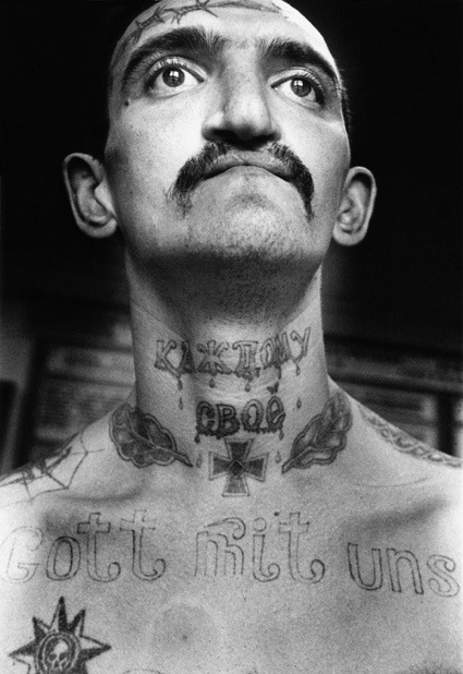 Russian Criminal Tattoo portraits