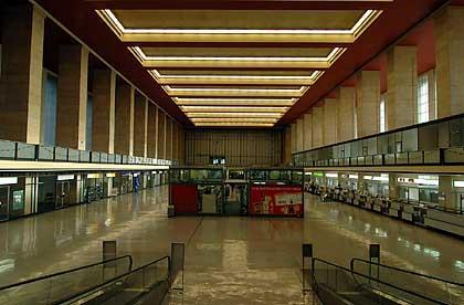 Tempelhof airport, inside