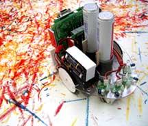 Да не простых картин, а нарисованных роботами!  Первая выставка ArtBots...